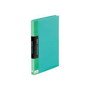(業務用100セット) キングジム クリアファイル/ポケットファイル 【A4/タテ型】 固定式 40ポケット 132CW グリーン(緑)【日時指定不可】