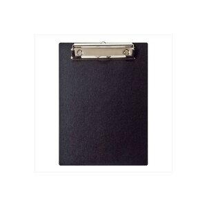 (業務用セット) ハンディー・クリップボード A5 E型 ブラック/QB-A501-D【×10セット】【日時指定不可】