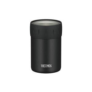 【THERMOS サーモス】 保冷 缶ホルダー 【350ml缶用 ブラック】 真空断熱ステンレス魔法びん構造【日時指定不可】