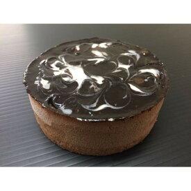 マーブルショコラムースケーキ/業務用ケーキ 【4号】 直径約12cm 日本製 〔スイーツ デザート お取り寄せ〕【代引不可】【日時指定不可】