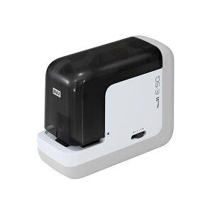 マックス ポータブル電動ホッチキス バイモ11 E-SQ 2〜40枚まで縦横・双方向で使用可【日時指定不可】