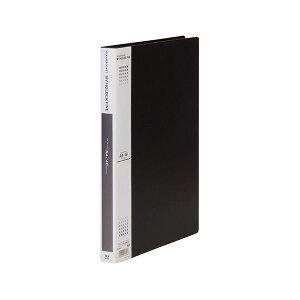 (まとめ) テージー マイホルダーファイン A4タテ型 40ポケット 黒 【×5セット】【日時指定不可】
