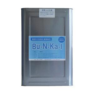 ヤナギ研究所 鉱物油用中性洗剤Bu・N・Ka・I 18L缶 BU-10-K 1缶【日時指定不可】