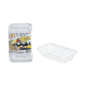 (まとめ)サンナップ フードパック お弁当平型S 10組(×50セット)【日時指定不可】