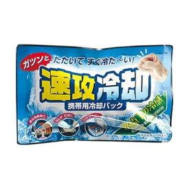 (まとめ)紀陽除虫菊 携帯用冷却パック 速攻冷却K-2001 1セット(10個)【×10セット】【日時指定不可】