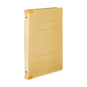 (まとめ) TANOSEEフラットファイル(背補強タイプ) 厚とじ A4タテ 250枚収容 背幅28mm イエロー1セット(30冊:10冊×3パック) 【×10セット】【日時指定不可】