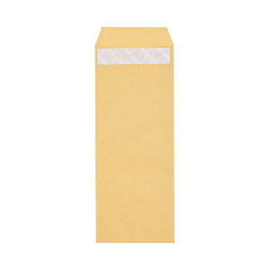 (まとめ) ピース R40再生紙クラフト封筒 テープのり付 長40 70g/m2 〒枠あり 453-10 1パック(100枚) 【×30セット】【日時指定不可】