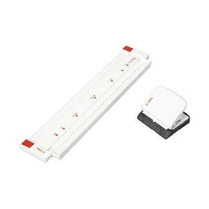 (まとめ)カール事務器 ゲージパンチ GP-2630-W ホワイト【×2セット】【日時指定不可】