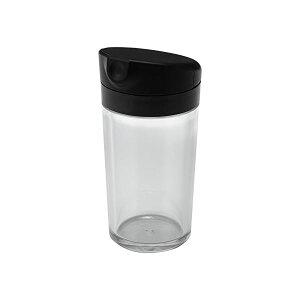(まとめ) 醤油差し/しょうゆ容器 【M】 DL プッシュ式 ブラック キッチン用品 【36個セット】【日時指定不可】