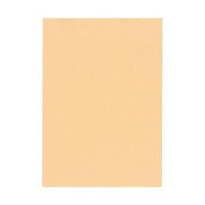 (まとめ)北越コーポレーション 紀州の色上質A4T目 薄口 びわ 1箱(4000枚:500枚×8冊)【×3セット】【日時指定不可】