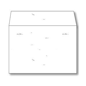 (まとめ) 長門屋商店 和み紙封筒 洋2105g/m2 しろ 徳用 ナフ-451 1パック(50枚) 【×5セット】【日時指定不可】