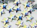 スワロフスキー[Hotfix]#2816 RivoliStarFlatBack 星形 クリスタルオーロラ5mm 10粒