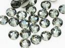 2058 ブラックダイヤモンドss9 (100粒)スワロフスキー (Swarovski)/ラインストーン