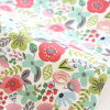 布料北欧风、布、入园入学≪公亩灰色花≫棉布/宽110cm dekorekushonzuorijinaru布料、布|小花纹|小孩
