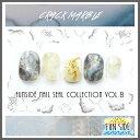 【DM便送料無料】FUNSIDE ネイルシール Crack Marble クラックマーブル 全3色 天然石アート