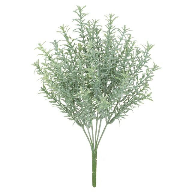 フロストローズマリーブッシュ *6(プラスチック)【観葉植物・フェイクグリーン】【屋外対応】