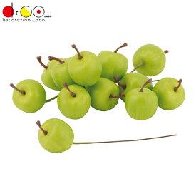 25mmグリーンアップルピック(12本/パック)(VF1257SS)[食品サンプル フェイクフード ディスプレイ 果物 フルーツ りんご]