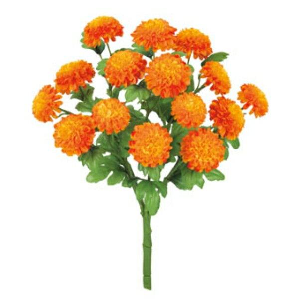 マリーゴールドブッシュ *15(オレンジ)【夏の造花・アートフラワー】