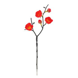 《光触媒》梅スプレイ(レッド)(FLS5317RDHI)[造花 アートフラワー スプレイ 光触媒]