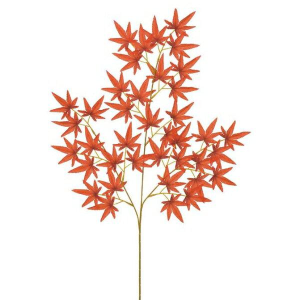 モミジスプレイ(レッド)【紅葉の造花・アートフラワー】