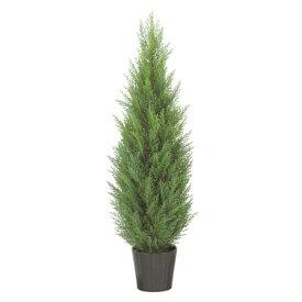90cmクレストツリー(プラスチック)【自立型・ゴールドクレストのフェイク(人工樹木)】【屋外対応】