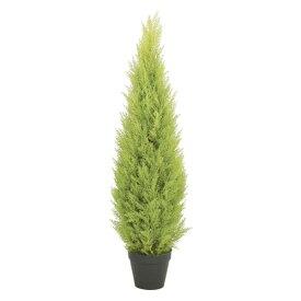 120cmゴールドクレストツリー(プラスチック)【自立型・ゴールドクレストのフェイク(人工樹木)】【屋外対応】