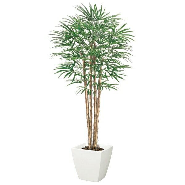 【光触媒】シュロチク(ナチュラルトランク)【インテリアグリーン(天然木と造花のコラボ!)】《ポット別売り》