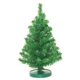 25cmミニツリー【防炎加工】(TXM2033S)[クリスマス ツリー デコレーション 装飾 飾り ミニツリー ミニ 小さい 卓上 緑 グリーン]