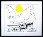 未来の鳩(ピカソ版画)