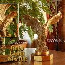 アンティークゴールド イーグル スタチュー 鷹の置物 ワシ 洋書 クラシック アンティーク 雑貨 アンティーク…
