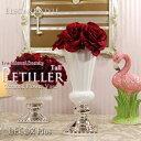Petiller ペティエ トール フラワーベース 花瓶 花器 陶器 アンティーク 雑貨 アンティーク風 おしゃれ 北…