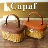 Capaf(カパフ)かごバッグ レクタンギュラー