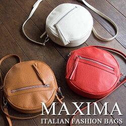 Maxima(マキシマ)/ハンドバッグ,ショルダー,牛革,レザー,イタリア製