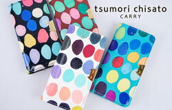tsumorichisatoCARRY(ツモリチサトキャリー)/スモールマルチドット,ドット,水玉,ネコ,2つ折り財布,ミニ財布,レディース