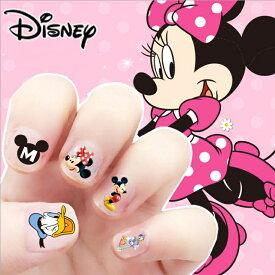 【送料無料】Disney MINNIE MOUSE ミニーマウス ミッキーマウス ドナルドダック デイジーダック ウォルト・ディズニー ネイルシール 約12*8cm 34〜38枚セット G29