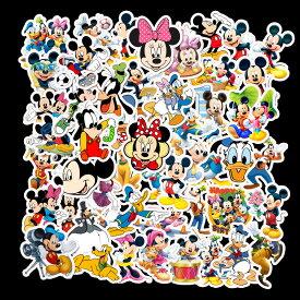 【送料無料】ディズニーステッカー ミッキーマウス ミニーマウス ドナルドダック デイジーダッグ プルート グーフィー ウォルト・ディズニー ウォールスッテッカー 壁紙シール wallsticker disney 3〜6cm*50枚セット G368