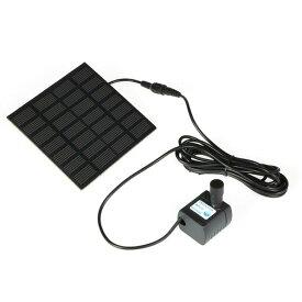 ソーラー 噴水キット ソーラーポンプ 噴水ポンプキット 太陽光発電 庭 ガーデン 散水キット