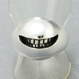 指輪 リング 送料無料 メンズ レディース シルバー スマイル 笑顔 アクセサリー ハンドメイド アクセサリー smile ball_2