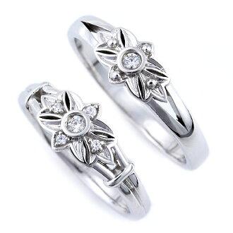 "Wedding rings ""Floride-Florida"" paired sales PT950 Platinum rings wedding rings"