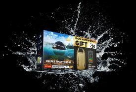 『限定 セット品 』【日本正規代理店品・保証付】 Deeper Pro+ ワイヤレススマートGPS魚群探知機(Wi-Fi + GPS) & 防水スマホポーチ、防水ドライバッグ