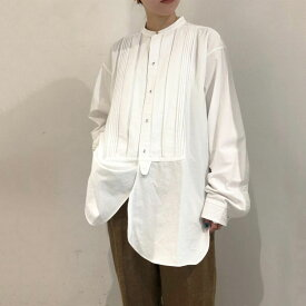 Tuck Dress Shirts -WHITE (12020403) Todayful(トゥデイフル)