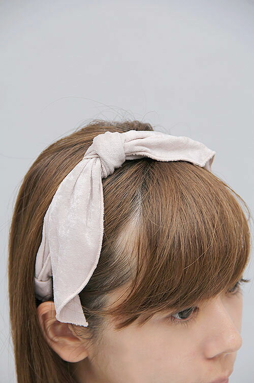 【70%OFF!】 Velor ribbon headband (LWGG134391) Lily Brown(リリー・ブラウン)