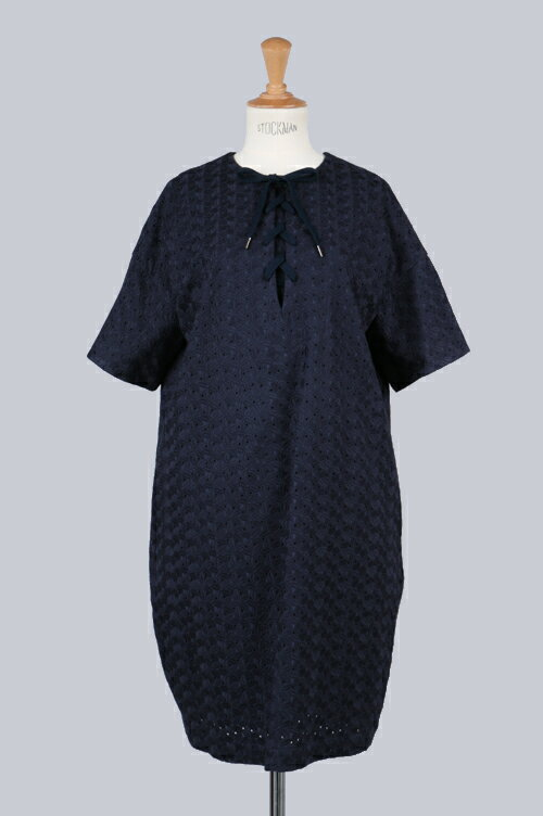 FLOWER EMBROIDERY DRESS (SG112041) SACRA(サクラ)