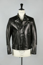 【40%OFF】 Leather Biker Jacket (1117-64070) Scye Basics -Men-(サイ・ベーシックス)