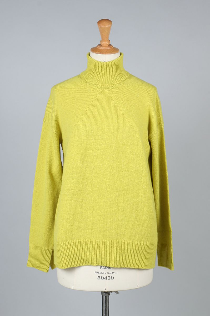 Cashmere Wool Turtle-neck Knit (1705F07004) Florent(フローレント)