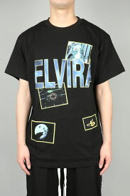 【40%OFF】NIGHT VISION T-SHIRT / BLACK(18EL-SS-32) Elvira(エルヴィラ)