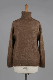 【40%OFF】Cashmere Furry Turtle Neck Knit (1218-13214) Scye Basics -Women-(サイ・ベーシックス)