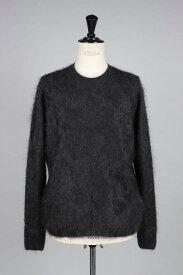 【40%OFF】Cashmere Furry Crew Neck Pllover - NAVY BLUE (1118-13211) Scye Basics -Men-(サイ・ベーシックス)