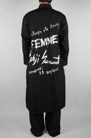 【30%OFF】Print Shirt(NH-B29-001-2S19) Yohji Yamamoto(ヨウジ・ヤマモト)