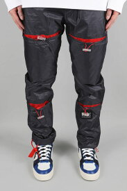 【30%OFF】ELASTIC PANT / NAVY/RED M+RC Noir(マルシェ・ノア)